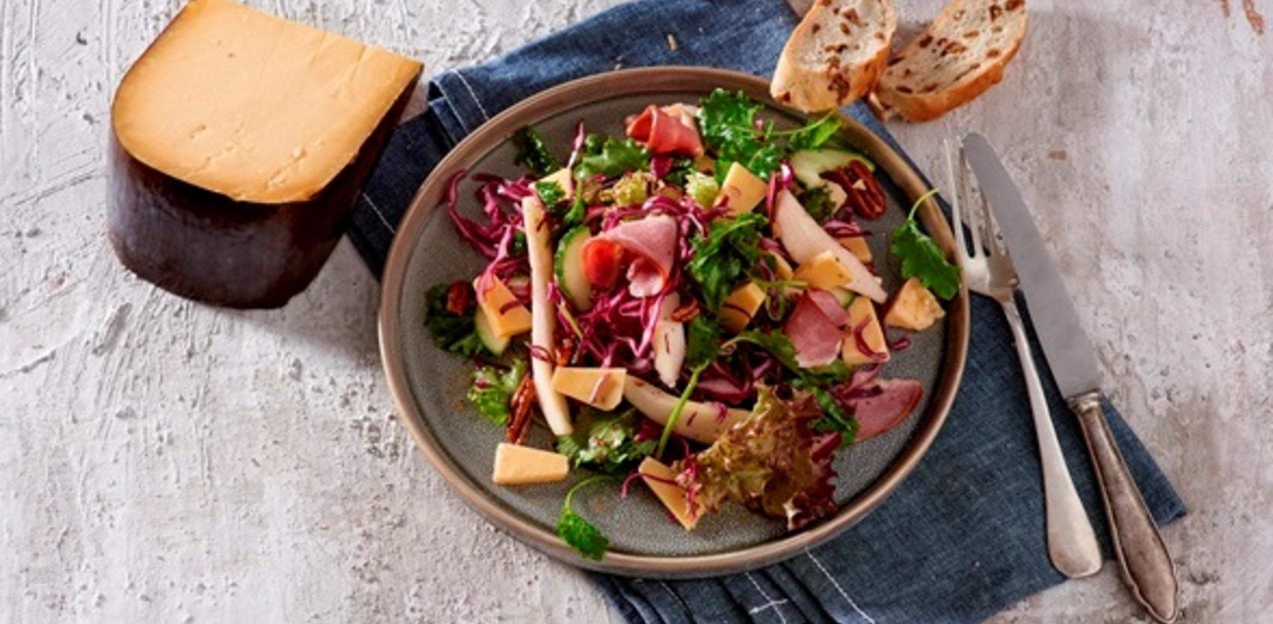 Salade met eendenborst en Soete Liefde